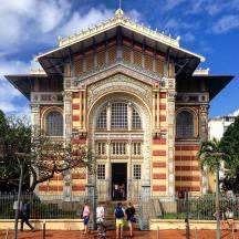 Bibliothèque Schœlcher, Fort de France, Martinique, French West Indies