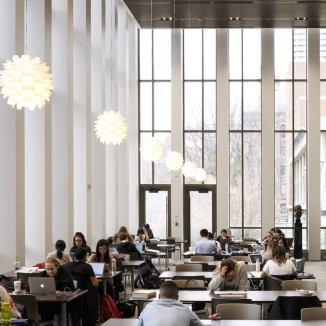 Bora Laskin Law Library, University of Toronto, Canada