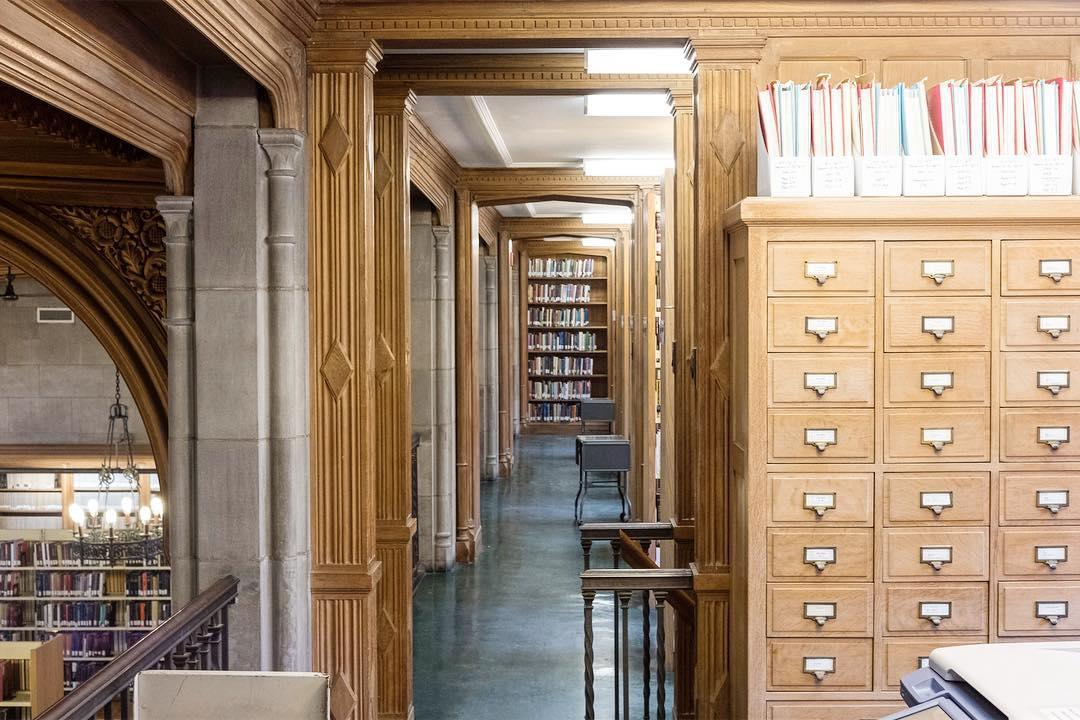 Emmanuel College Library, University of Toronto, Canada