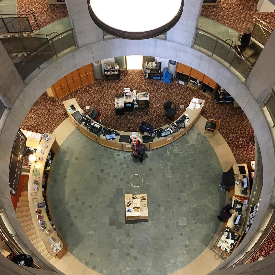 Lillian H  Smith branch, Toronto Public Library, Canada