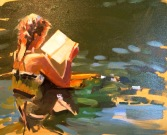 Lacambra-Shubert, Laura - Reading-in-the-Lake-16x20