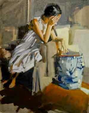 Lacambra-Shubert, Laura - Readingbon blue stool