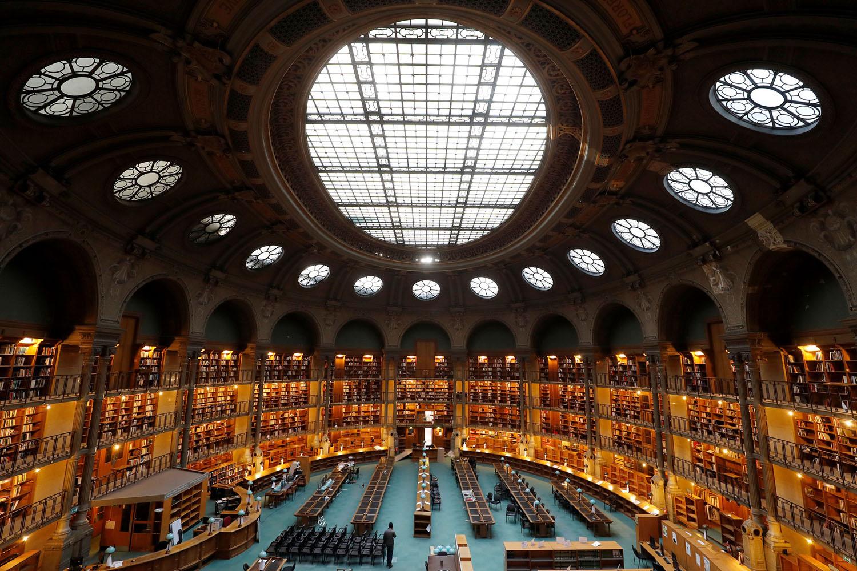 FRANCE-LIBRARY-HERITAGE-BNF-RICHELIEU-OVALE   bluesyemre