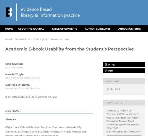 academic ebook