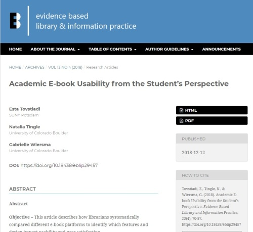 academic ebook