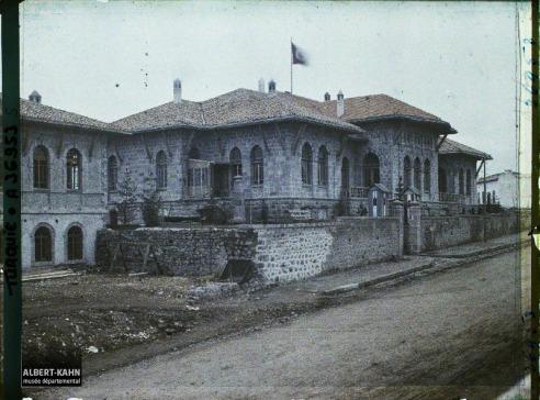 Turquie, Angora, Bâtiment de la Grande Assemblée