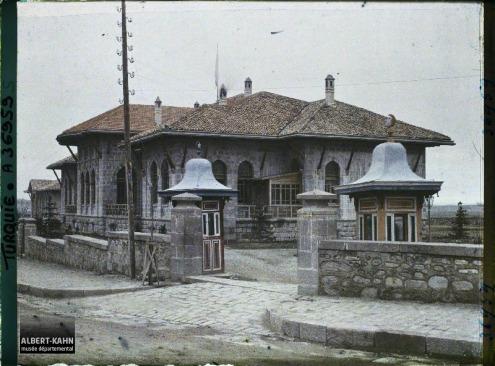 Turquie, Angora, Entrée de la Grande Assemblée