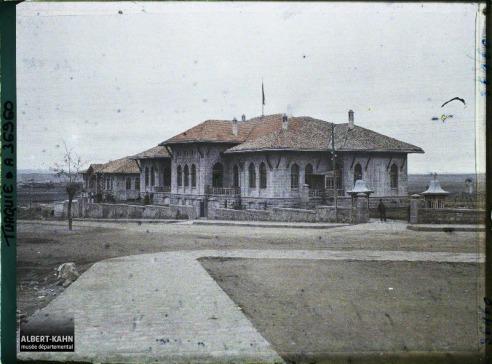 Turquie, Angora, Ensemble du Bâtiment de la Grande Assemblée