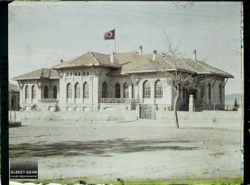 Turquie, Angora, Palais de la Gde Assemblée