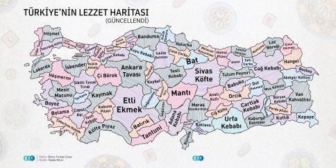Lezzet Haritası