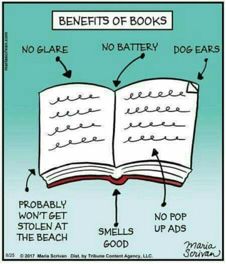 Benefits of books part 1