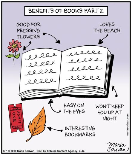 Benefits of books part 2