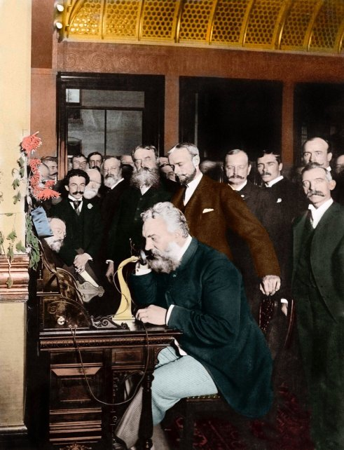 March 10, 1876 – The first phone call