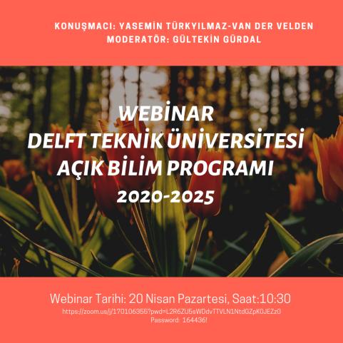 Delft Teknik Üniversitesi Açık Bilim Programı 2020-2025