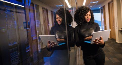 black-woman-holding-computer