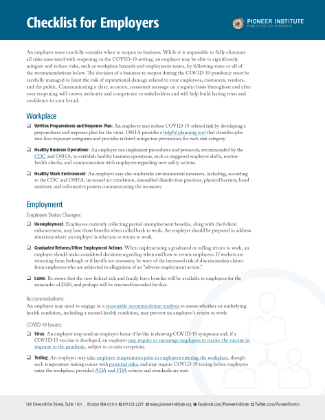 COVID-19 Checklist for Employers_Sayfa_1